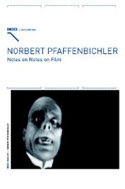 Notes on Notes on Film (Norbert Pfaffenbichler) region free DVD