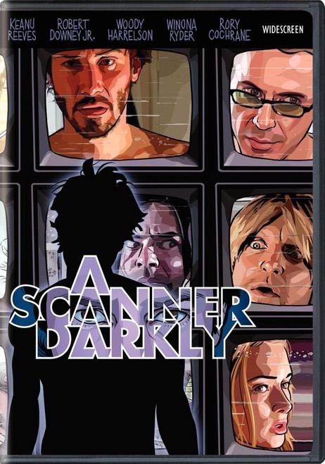 A Scanner Darkly (region 1 DVD)