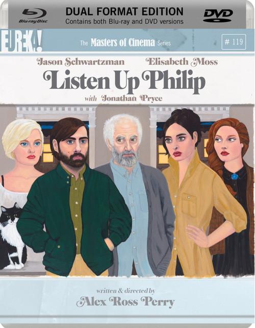 Listen Up Philip (region B/2 Bluray/DVD)
