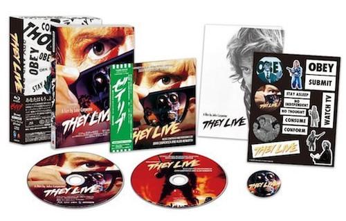 They Live limited edition Blu-ray box (region A Blu-ray)