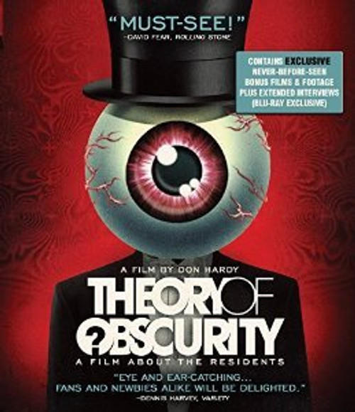 Theory of Obscurity: A film about The Residents (region free Blu-ray)