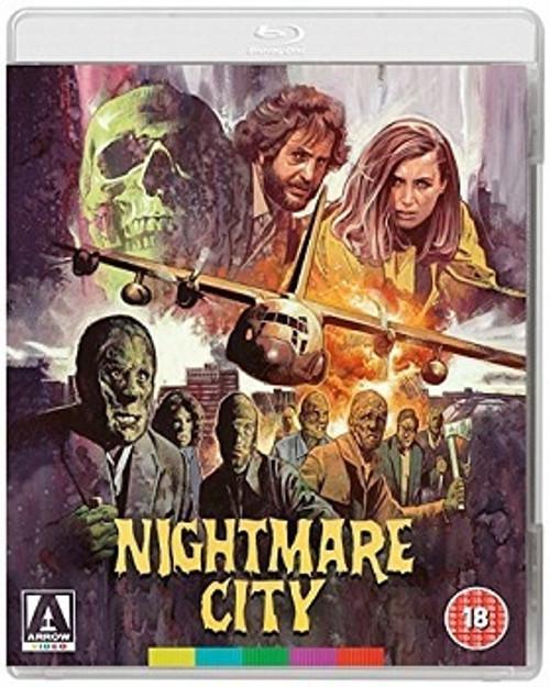 Nightmare City (region free blu-ray/DVD)