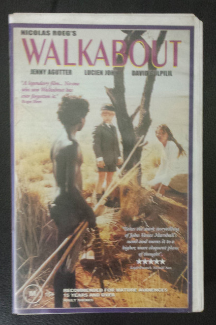 Walkabout (VHS)