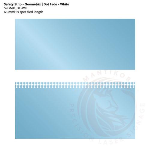 Visibility Strip - Geometrix | Dot Fade - White