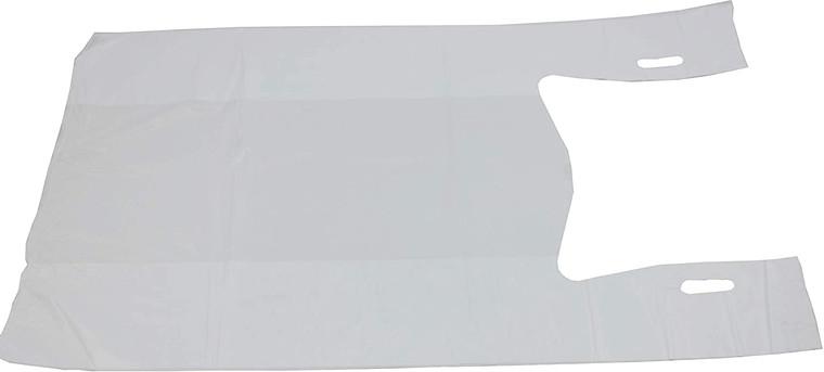 T-Shirt Bags 20x10x36 - Jumbo White - 25 MIC - 250 per case