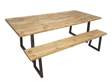 Wilford solid wood dining table