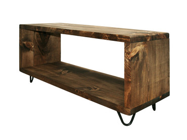 Rustic Record stand TV cabinet