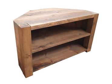 Rustic Corner TV cabinet