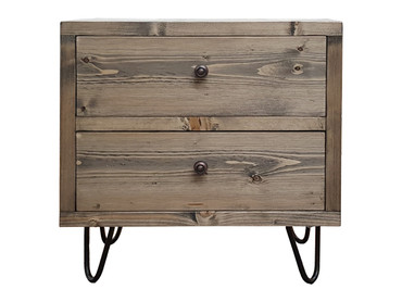 Industrial Bedside chest of draws