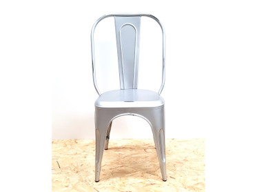 Tolix chair high back Silver