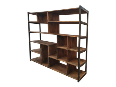 Large Industrial abstract shelving unit