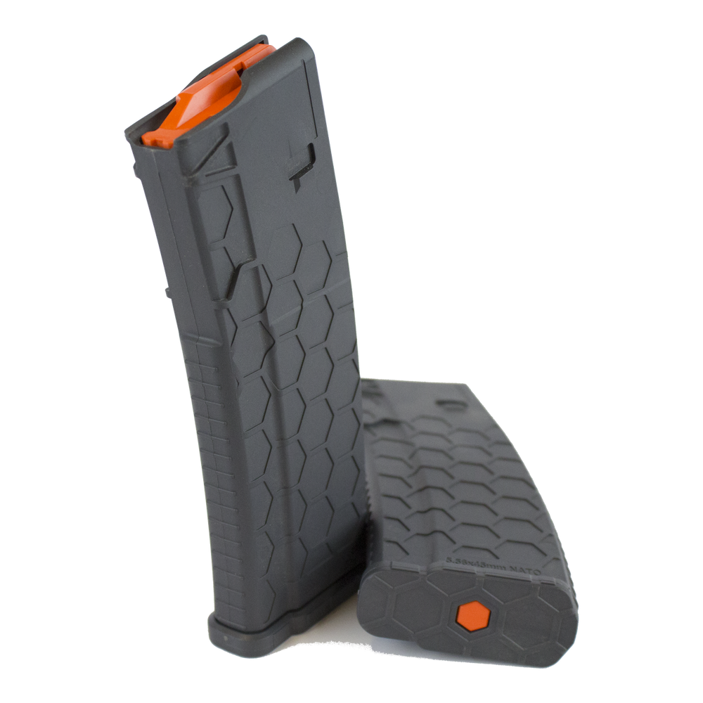 Gray Series 2 Hexmag magazine by SENTRY with Orange HexID
