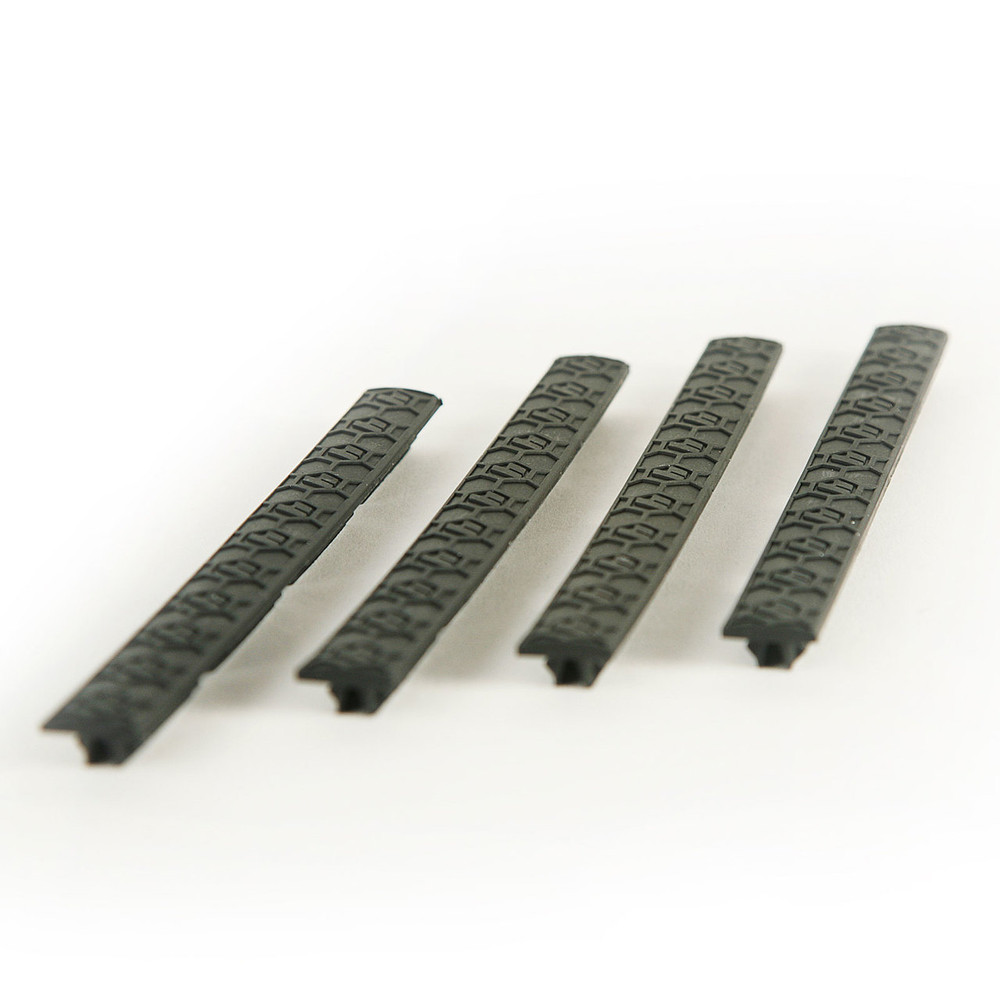 SENTRY M-Lok® rail covers feature our patented Hexture™ design pattern matching the SENTRY Hexmag line of magazines and accessories.