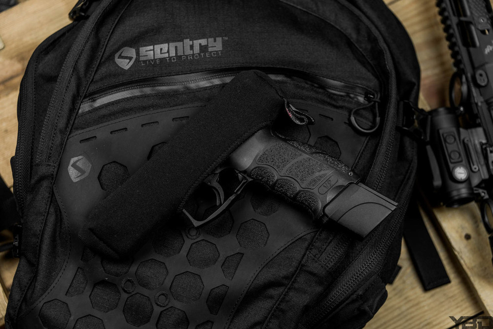 If it's an HK or a Glock we have a Slideboot that will fit it! SENTRY - Live To Protect