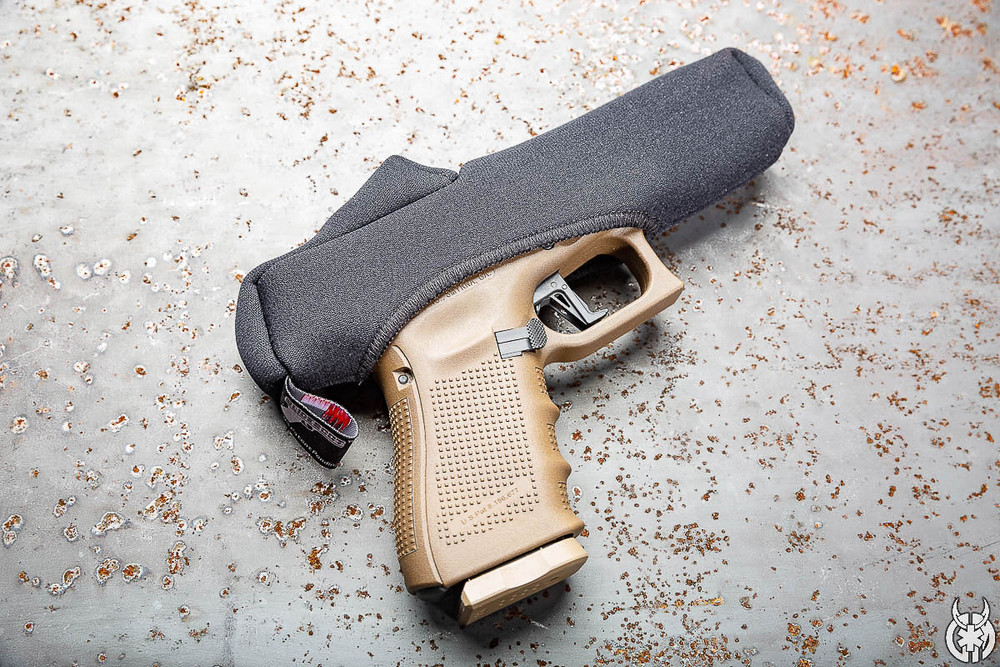 Have a reflex or red dot sight on your handgun? We have a Slideboot made for that. Select your handgun size with red dot option from the drop down.