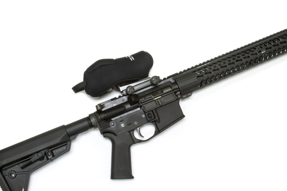 Scopecoat made specifically for electronic and holographic sights.