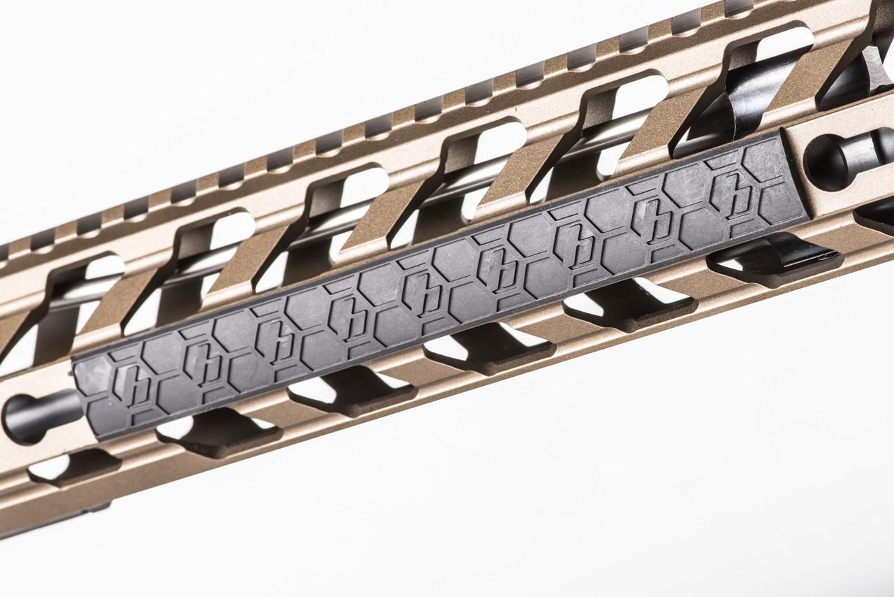 SENTRY 7-Slot KeyMod Rail Cover (4 Pack / Black) - SENTRY