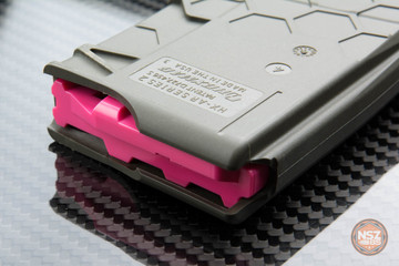 O.D. Green Series 2 Hexmag magazine with Pink HexID installed