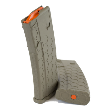 FDE Series 2 Hexmag magazine by SENTRY with Orange HexID