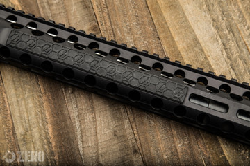 SENTRY M-Lok® rail covers span 4 M-Lok® slots offering great coverage and modularity to put them where you want.