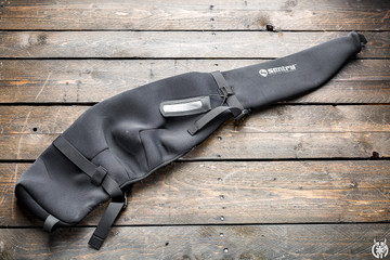 Protect your high end rifle or shotgun in the safe from dings and scratches. Long gun Go Sleeve comes with a pouch for an I.D. tag so you know what's inside. Conforms to the firearm and can be used in tandem with a hard case for long periods of transport then used in the field instead of bulky hard cases.