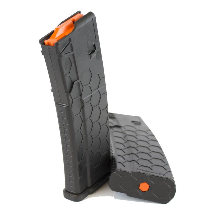 Black Series 2 Hexmag magazine by SENTRY with Orange HexID