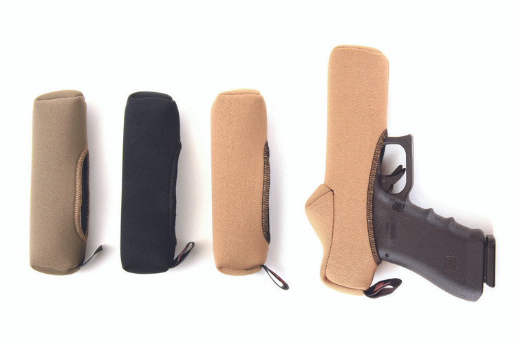 SENTRY Slideboot™ shown from left to right - Dark Earth, Black, Coyote Brown & Coyote Brown Red Dot compatible.