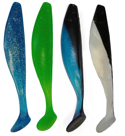 Marlin Dredge Shad color options