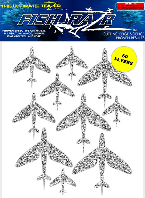 Silver Flying Fish Razr's