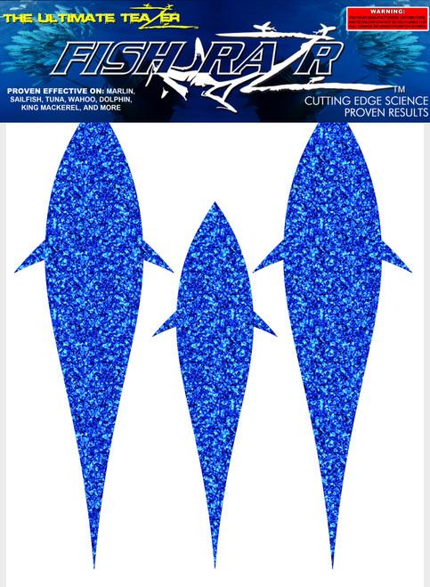 Blue Bonita Razr's 18 pack.  Hull teaser.