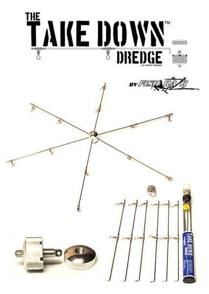 Take Down dredge bar