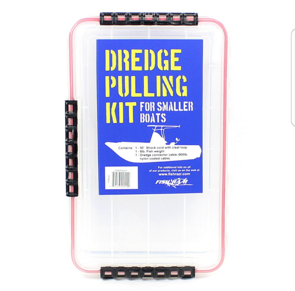 Small Boat dredge pulling kit