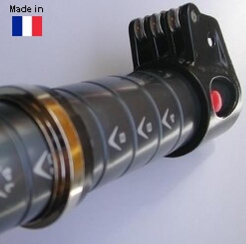 NAUTIX Mast Extension Alu SDM alu 48 with alu pulley block
