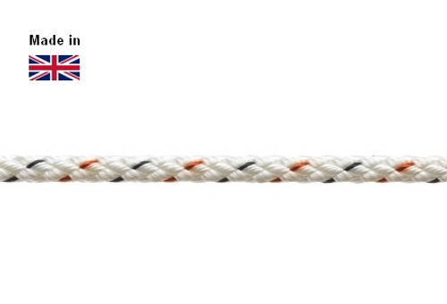 Outhaul Rope Marlow 8 Plait Pre-Stretched 4mm