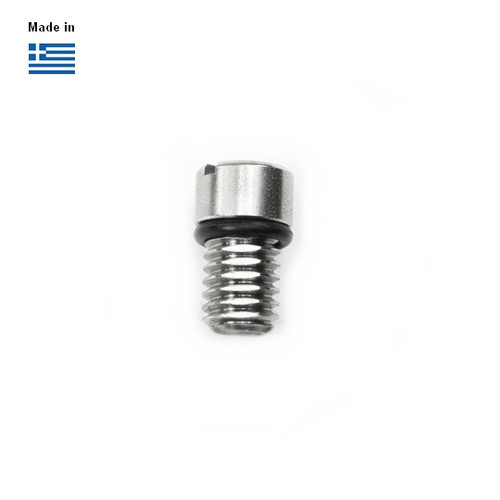 Air Vent Screw with cut thread for Cobra Boards inox 316 (Α4)