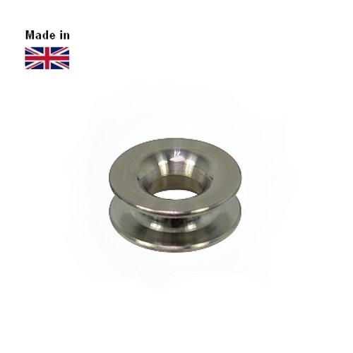 Clamcleat® PT5107 Titanium thimble for 3-4mm ropes