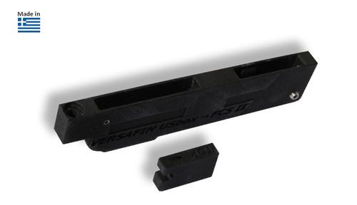 Dual tab FCS II & I type fins to Usbox / Slotbox adaptor
