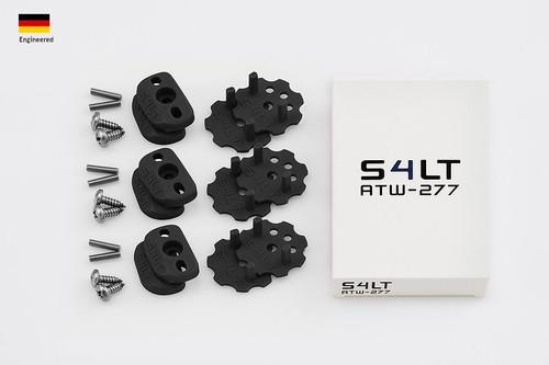 S4LT TW 277 - Black anti-twist washer