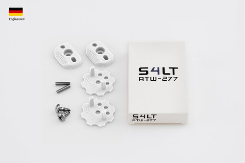 S4LT ATW 277 - White anti-twist washer - Set for 1 footstrap