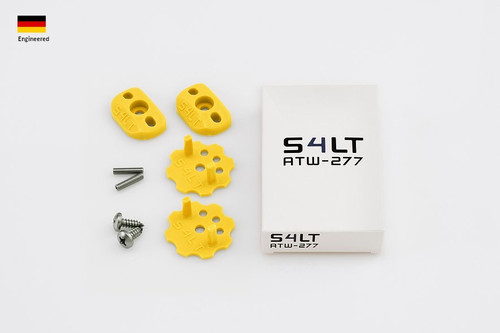 S4LT TW 277 - Yellow anti-twist washer - Set for 1 footstrap