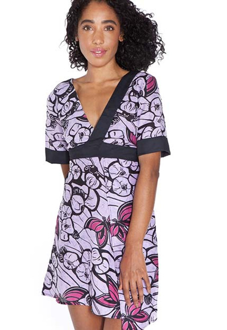 mayamiko kimono cotton dress