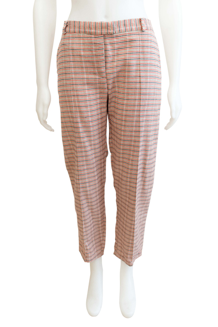 Mayamiko ReBirth Checked Plaid Pants Ethical Fair Trade