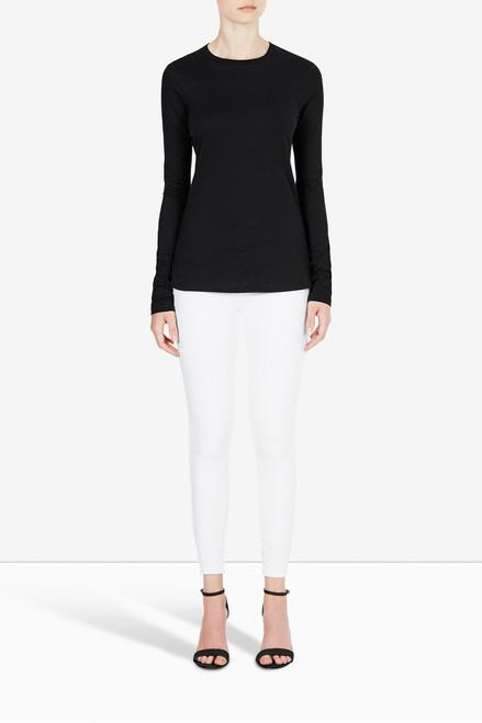Bon Label Organic Cotton Jersey Black Long Sleeve Top