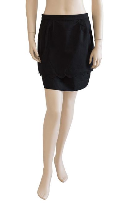 Forever New Black Layered Skirt