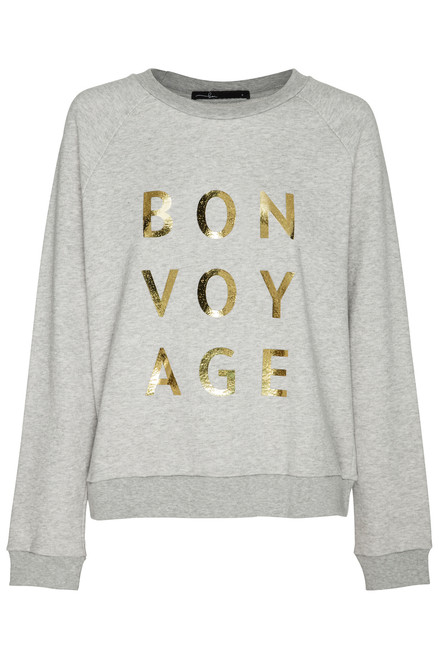 Bon Voyage Organic Cotton Sweater by Bon Label