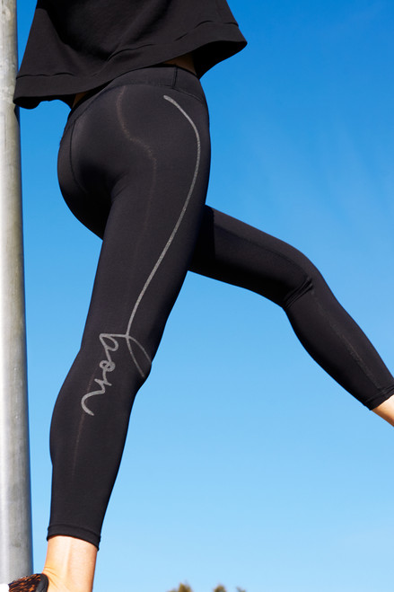 Bon Label Leggings Full Length Compression Tights