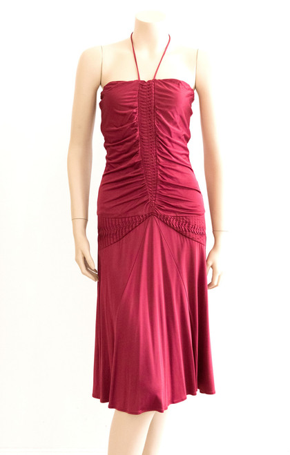 Truese Red Halterneck Dress