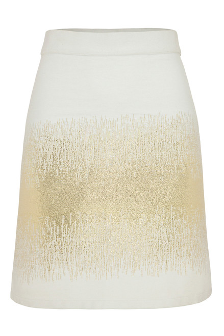 Bon Label Golden Thread Skirt Ethically Produced and Eco Friendly