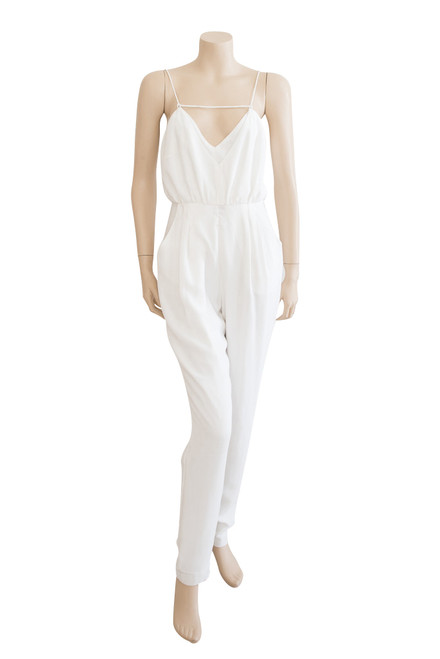 Finders Keepers White Jumpsuit