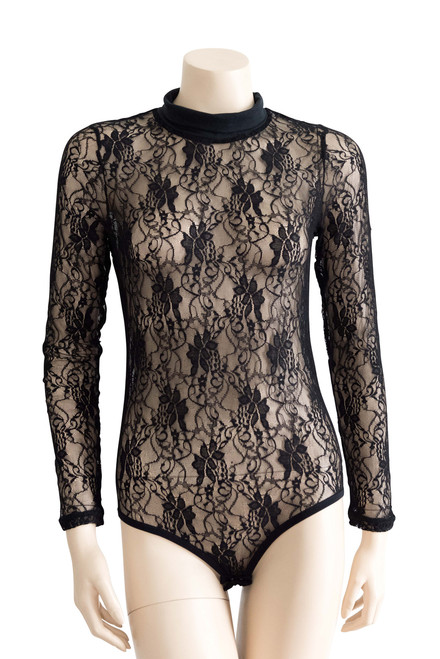 Ellesse Black Lace Bodysuit